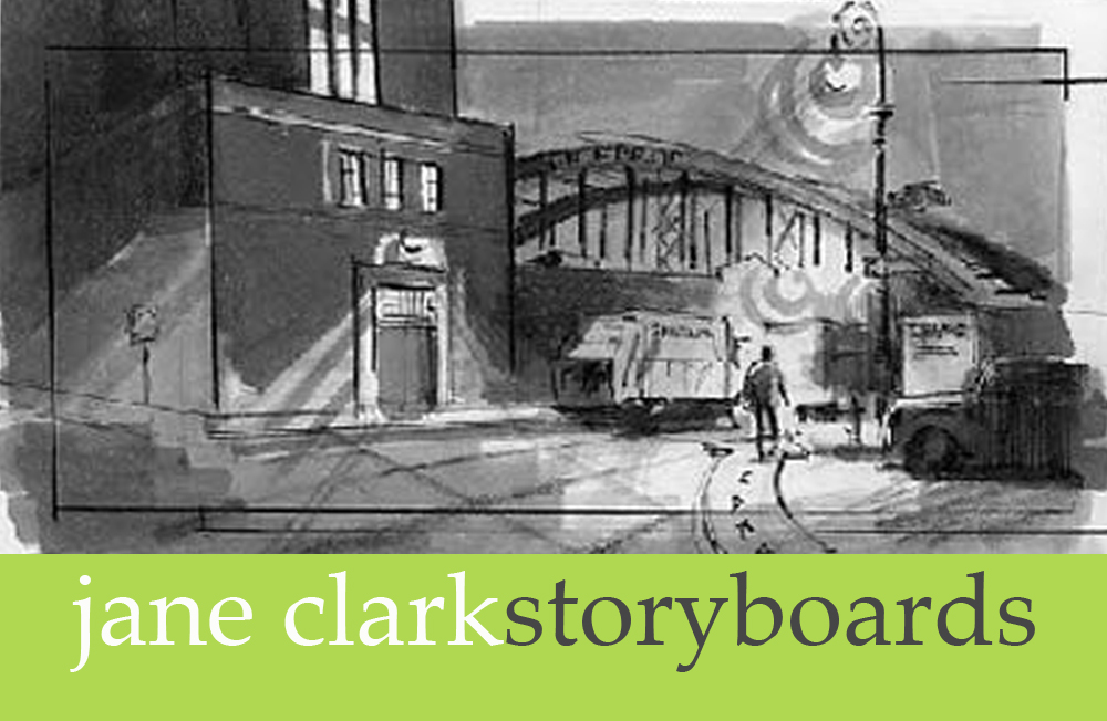Jane Clark - Storybords for film,television,movies,adverts,advertising,tv